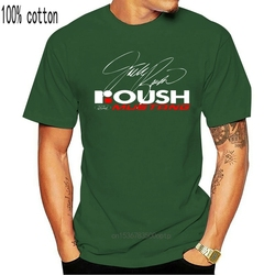 ROUSH RACING -  Custom Mens Black T-Shirt Tee