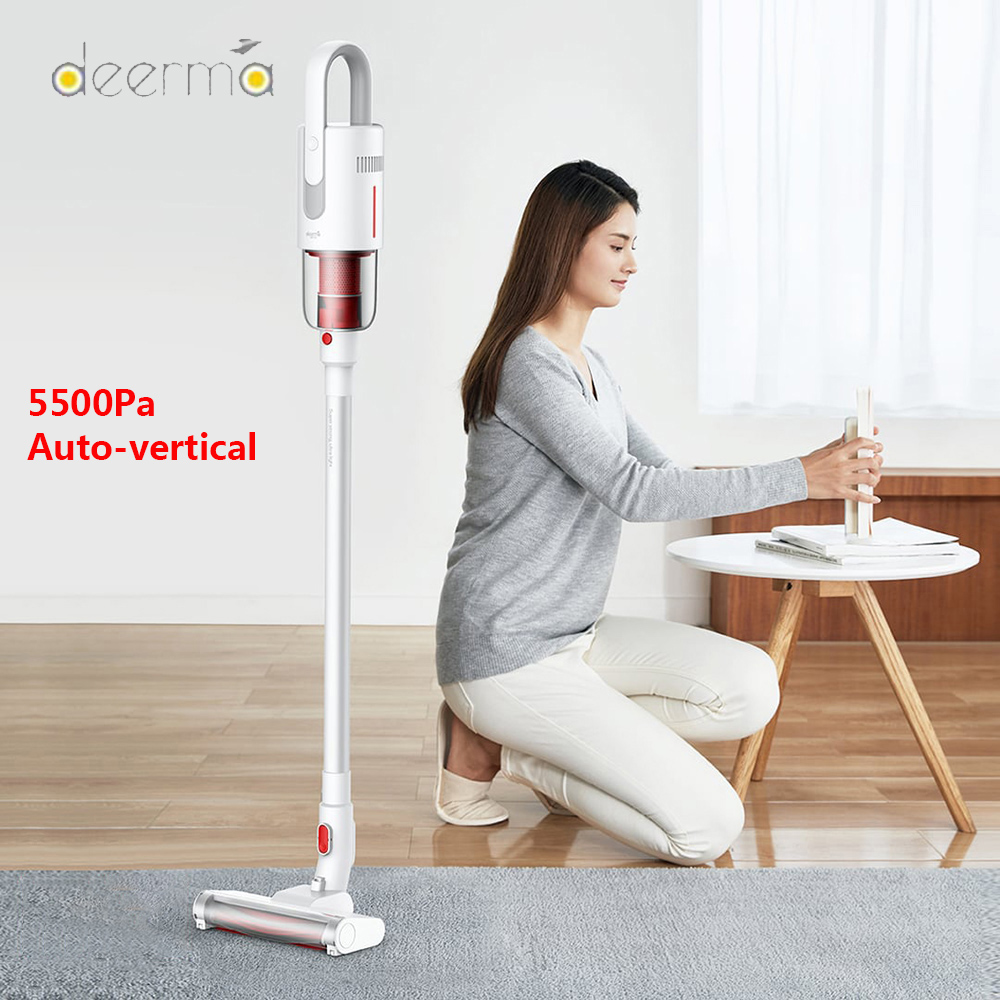 New Deerma VC20 Vacuum Cleaner Wireless Aspirator Vertical/HandHeld Vacuum Cleaners 5500Pa Strong Power For Home Car