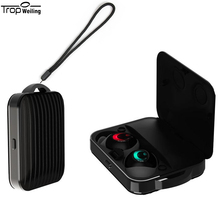 TROP WEILING TWS True Wireless Bluetooth 5.0 Earphone Power Smart Touch Bilateral Call Earbuds Charging Box 3D stereo headphones tws earbuds bluetooth 5 0 true wireless earphone waterproof charging box hifi stereo sound bilateral call ipx4 for iphone xiaomi