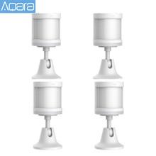 Оригинальный Aqara датчик человеческого тела ZigBee движения безопасности движения Беспроводное подключение Светильник интенсивность шлюз 2 для Mi home APP