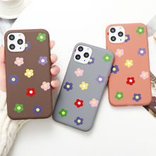 TPU Silicon Flower Matte Cover For Huawei P20 Lite P30 Mate 30 20 10 Lite Pro P Smart 2019 Honor 8X 9X 9 10 20 Lite 10i 20i Case(China)