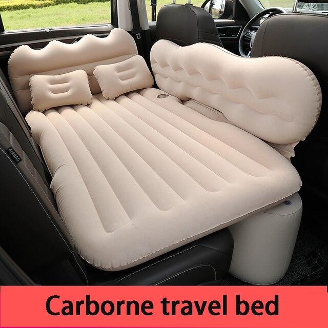 Cama inflável do carro do protetor da cabeça cama inflável do carro