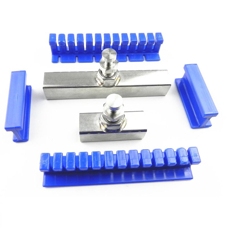 6pcs Car PDR Lifter Slide Hammer Tool Paintless Dent Removal Puller Repair Kit