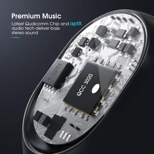 Image 2 - Mpow ipx7 Waterproof T5/M5 Upgraded TWS Earphones Wireless Earbud Bluetooth 5.0 Support Aptx 42h Playing Time For iPhone Samsung