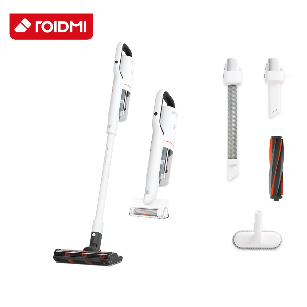 Xiaomi Roidmi NEX Handheld Cordless Vacuum Cleaner 2 In 1 Cleaning And Mopping Dust Collector Magnetic Charging APP Control