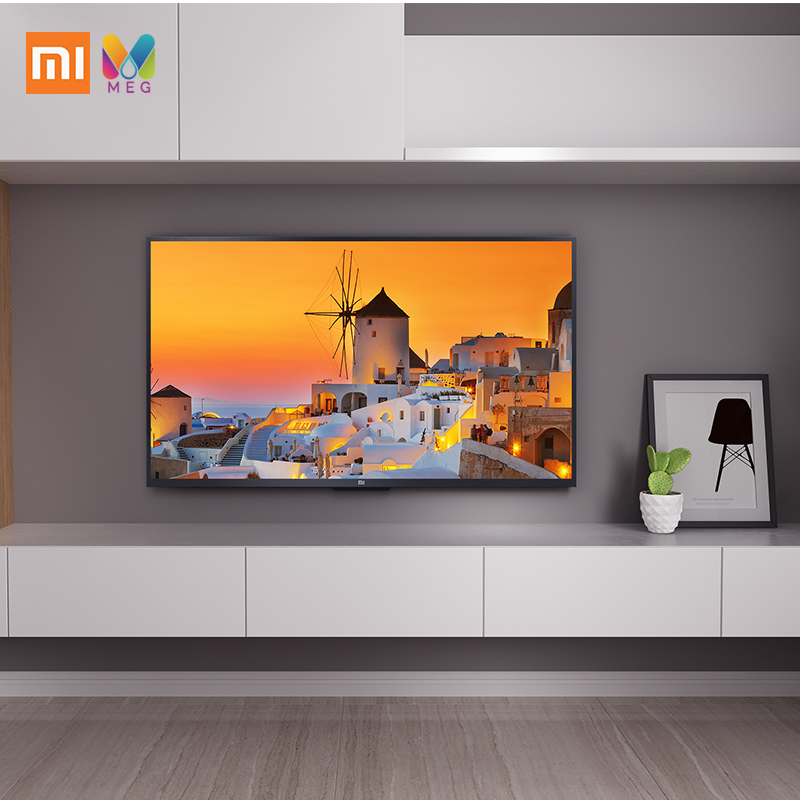 Télévision xiaomi mi TV 4s 43 android Smart TV LED 4K 1G + 8G Custo mi zed langue russe | support mural cadeau - 2