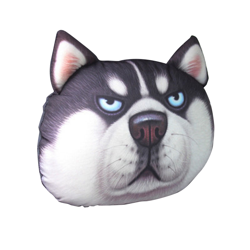 The Latest Cute 3D Printing Animal Face Car Headrest Pillowcase Neck Automatic Travel Supplies|Neck Pillow| |  - title=