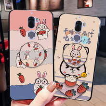 Airbag Holder Rabbit Silicone Case For LeEco Le Max 2 X820 X900 Cute Shell Back Cover For Coolpad Cool 1(China)