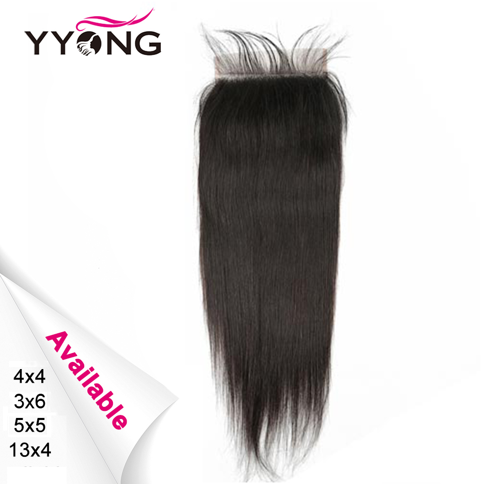 Yyong  Straight 5x5 7x7  Lace Frontal Closure 13x4 Ear To Ear Lace Frontal Medium Brown Lace  Can Bleached 1