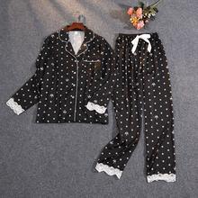 Женский пижамный комплект daeyard из двух предметов на весну