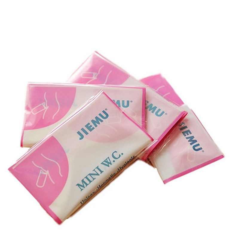 4 sztuk na zewnątrz awaryjne torby na mocz 700ml łatwe wziąć Piss torby podróży Mini przenośne wc dla dziecka kobiety mężczyźni torba wymiotów drop ship