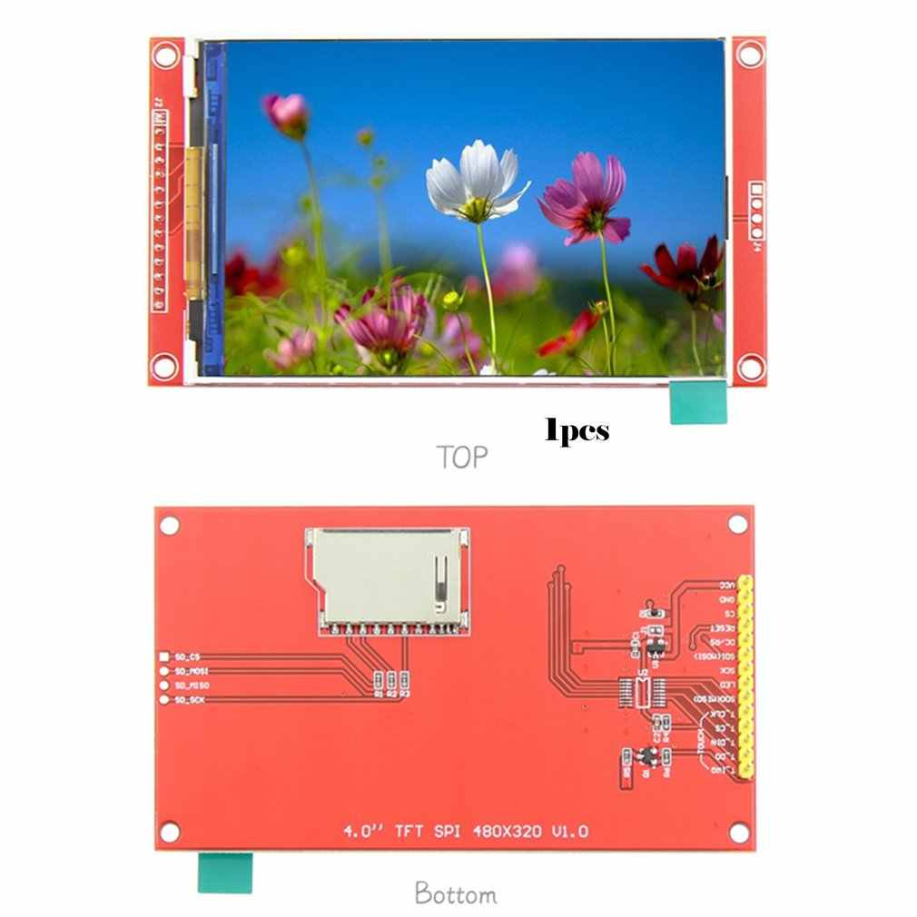 4,0 zoll TFT SPI Serielle LCD Auflösung 480*320 4,0 inch LCD Display Modul mit SD Card Slot 3,3 v-5V Fahrer IC ST7796S