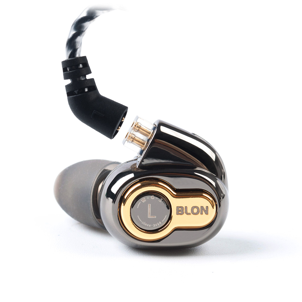 Image 4 - BLON BL 05 BL05 BL 03 BL03 10mm 2nd Generation Carbon Nanotube CNT Diaphragm In Ear Earphone HIFI DJ Sport Earbuds with 2pinEarphones   -