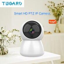 Tuya novo inteligente wi fi sem fio ptz câmera ip 1080p hd câmera de vigilância visão noturna câmera monitor do bebê segurança em casa