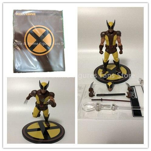 6 cal Mezco tkaniny x men Wolverine 2 pokoleń figurka pcv ruchome kolekcja zabawki prezenty
