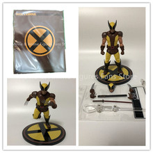 6inch Mezco Cloth X Men Wolverine 2 Generations Action Figure PVC  Movable Collection Of Toy Gifts