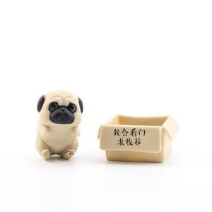 Image 4 - 5/8 Pcs/ชุดน่ารักEmperor Mini Dog Cat Action Figure Toyขี้เกียจแมวPug Dogสัตว์ตุ๊กตารูปคอลเลกชันเด็กวันเกิดของขวัญ