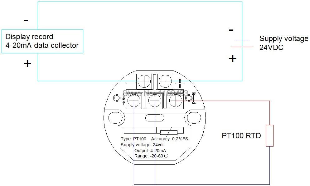ftt01 420ma output 0120c pt100 temperature transmitter module sbwz  temperature amplifier templifier