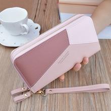 SHUJIN 2019 New Women Wallets Credit Wallet Women Luxury Brand Clutch PU Leather Money Clip Long Lady Purse For Coins