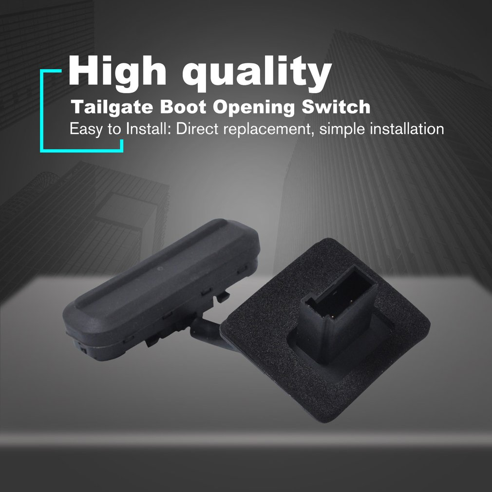 Durable Black Tailgate Boot Trunk Lid Release Opening Switch For GM/Regal/Opel/Vauxhall Saloon 13422268 13422270
