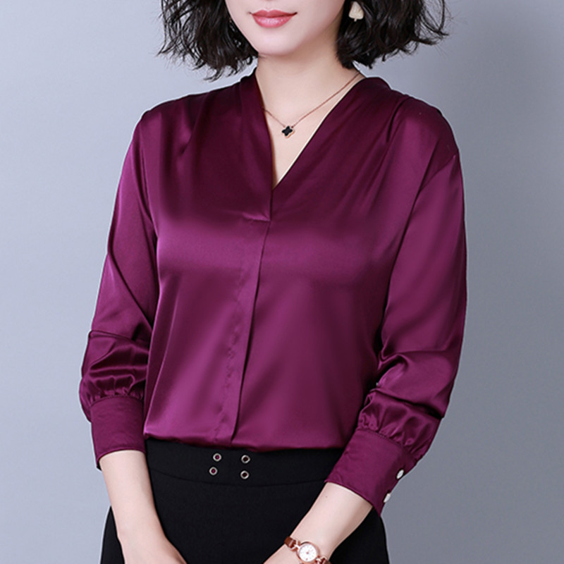 Fashion Blouses Womens Tops And Blouse Autumn Blusas Mujer De Moda Blouse Women Shirt Woman Elegant Ladies Shirts Plus Size XXXL