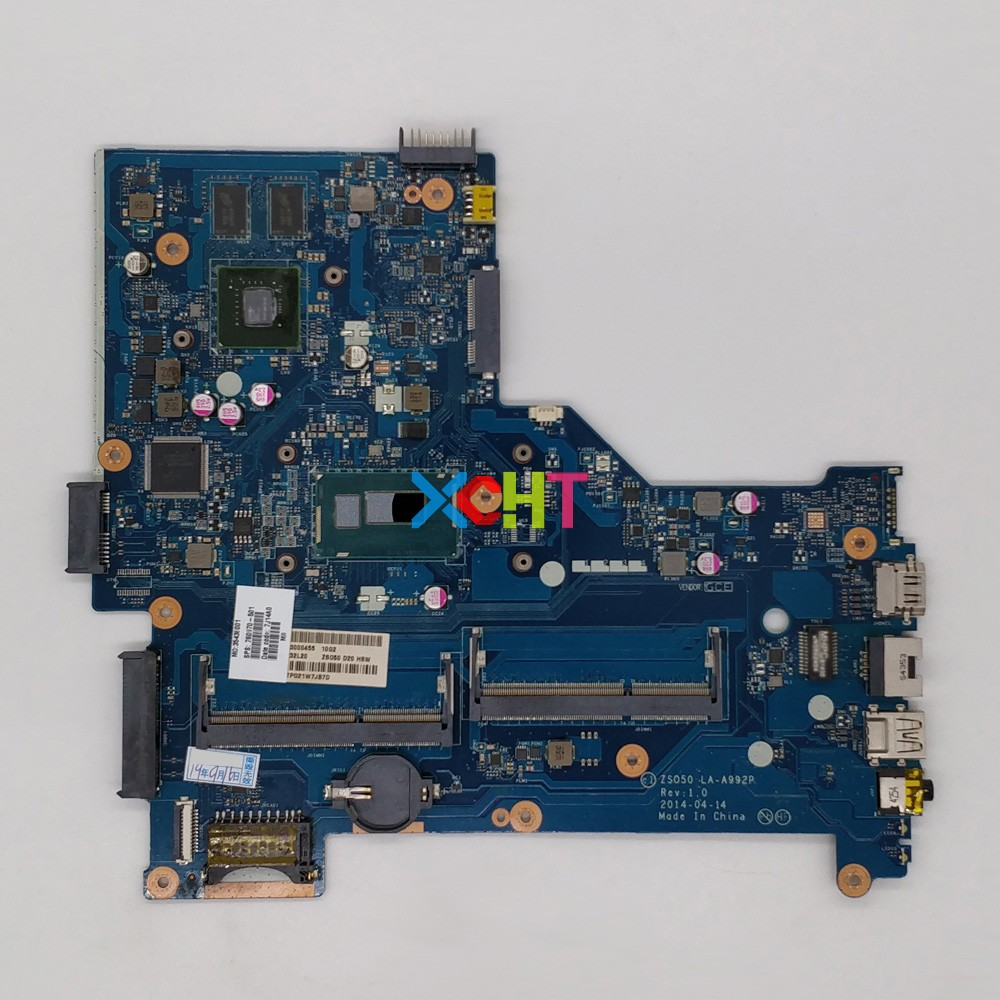 for HP 15 R 15 S Series 760970 501 760970 001 760970 601 ZSO50 LA A992P i5 4210U 2GB VRAM Motherboard Mainboard Tested-in Laptop Motherboard from Computer & Office