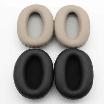 Replacement Ear Pads For Sony WH-1000XM2 1000X Over-Ear Headphones Cushions Memory Foam Soft Leather EarPads black eh# replacement 108mm memory foam ear pads cushions for akg k550 551 240s 242 a500 900 headphones