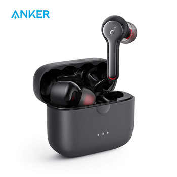 Anker Soundcore Liberty Air 2 TWS Wireless Earbuds, Diamond Coated Drivers, Bluetooth Earphones with 4 Mics, 28H Playtime