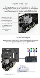 Image 4 - BYKSKI GPU Water Block for NVIDIA GeForce RTX 2080Ti/2080 Founders Edition With 240mm Radiator / PUMP / 2pcs Fan A RGB LED Light