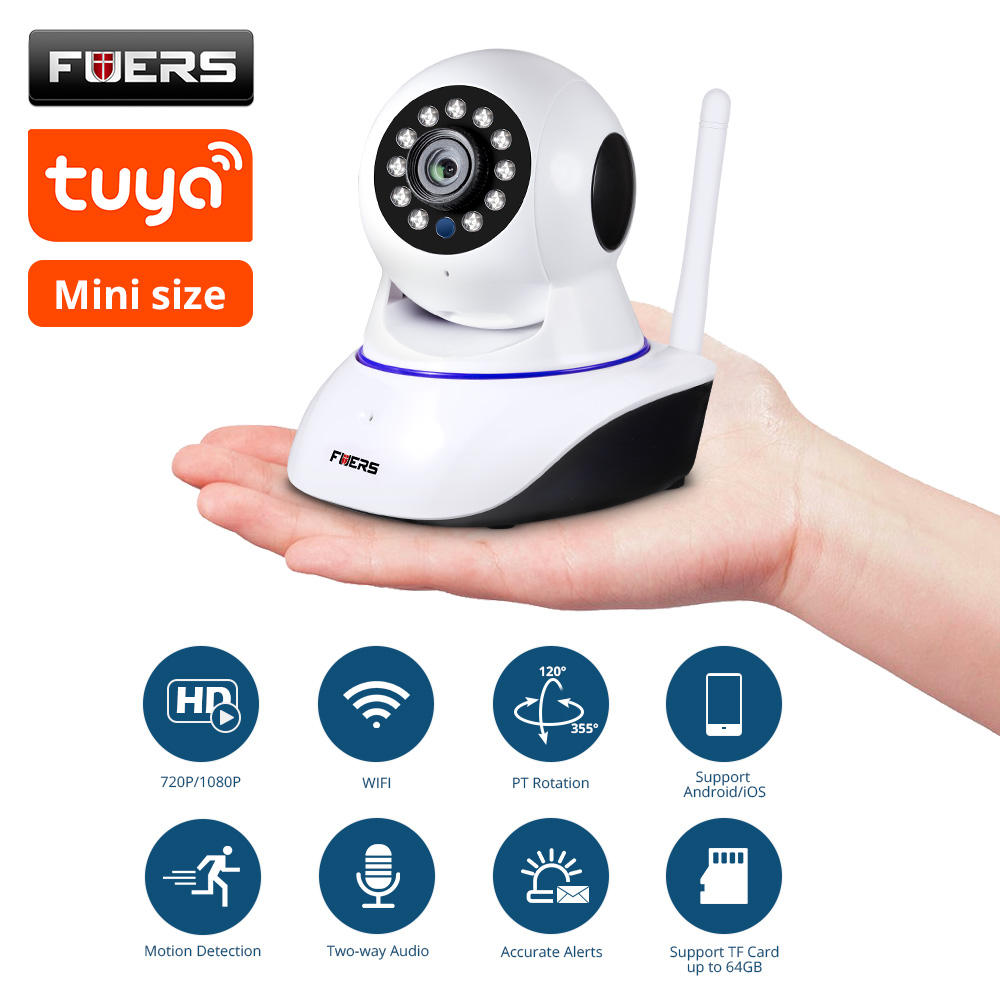KERUI Wireless 1080P WiFi Night Vision Sensitive Motion Detection IP Camera