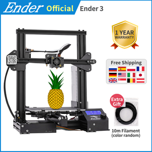 Ender-3 3D printer DIY Kit Large print Size I3 mini Ender 3/Ender-3X printer 3D Creality 3D printer Continuation Print Power(China)