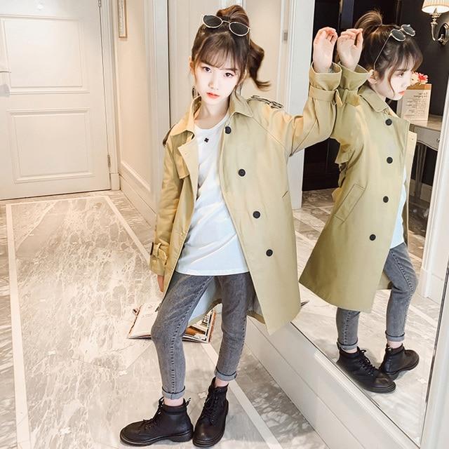 Girls Long Coat 2
