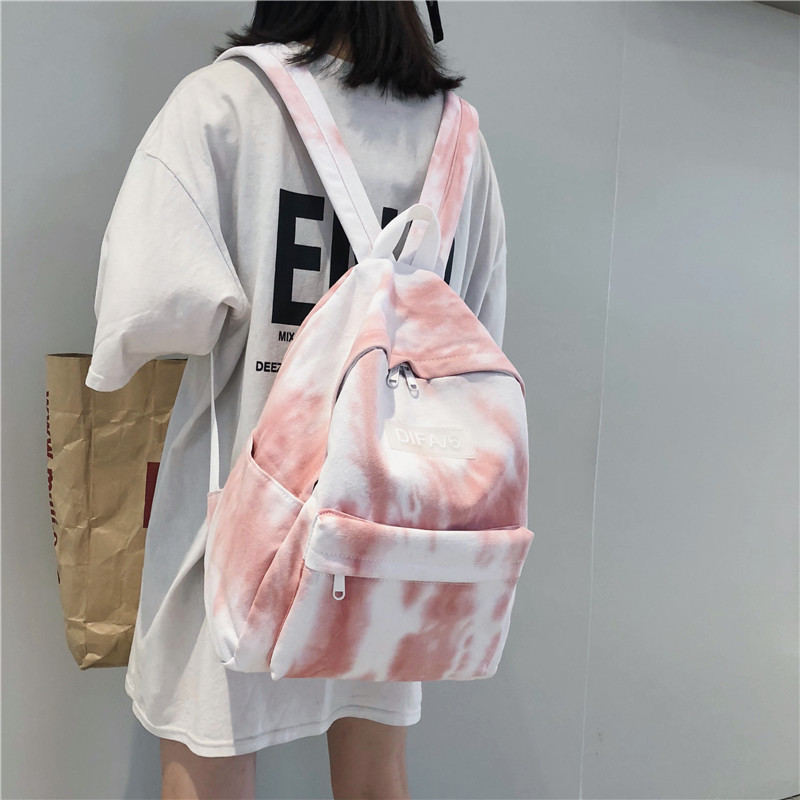 Women Canvas Backpack Bagpack High Quality Schoolbags For Teenage Girls Back Pack College Students Backpacks Book Bags in Backpacks from Luggage Bags