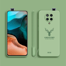 цена на K30 Pro Original Liquid Silicone Phone Case for Xiaomi K30 Pro Soft-Touch Silky Protective Cover For Redmi K30 Back Coque Fundas