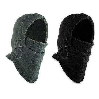 Winter warm Fleece beanies hats for men skull bandana neck warmer balaclava face Warmming Wargame cap Special Forces Uni Hat