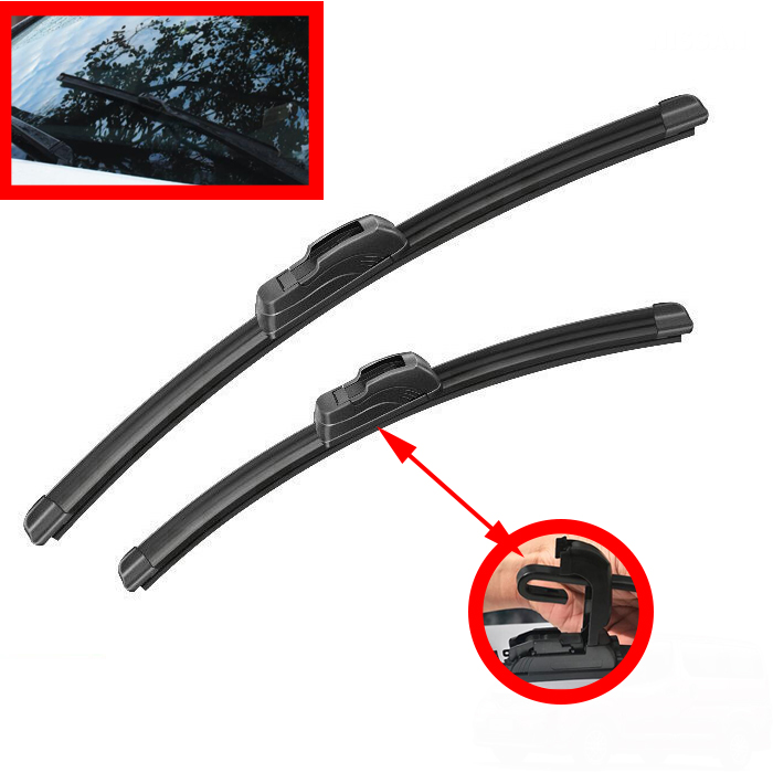Windshield Windscreen Wiper Blades For <font><b>Toyota</b></font> <font><b>4Runner</b></font> 2002-2009 Front 2003 2004 <font><b>2005</b></font> 2006 2007 2008 image