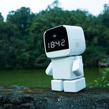 Robot 1080P IP Camera WIFI Clock Network CCTV HD Baby Monitor Remote Control Home Security Night Vision Two Way Audio YOOSEE(China)