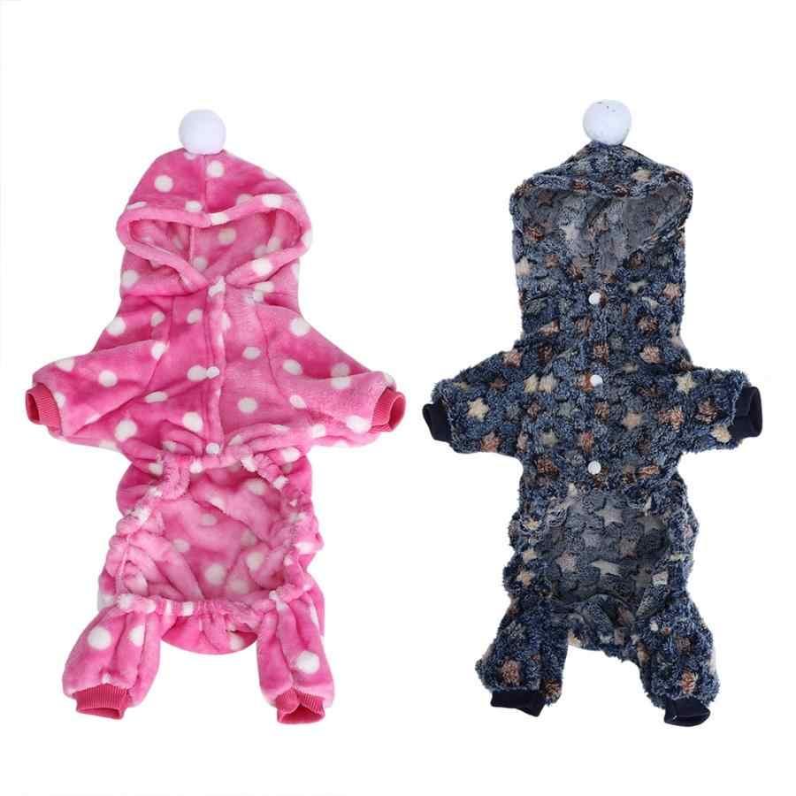 Пальто для маленьких щенков; сезон осень-зима; толстовки для питомцев; одежда для прыжков; теплая Пижама; Одежда для собак, кошек; Мягкий комбинезон; зимняя одежда для собак