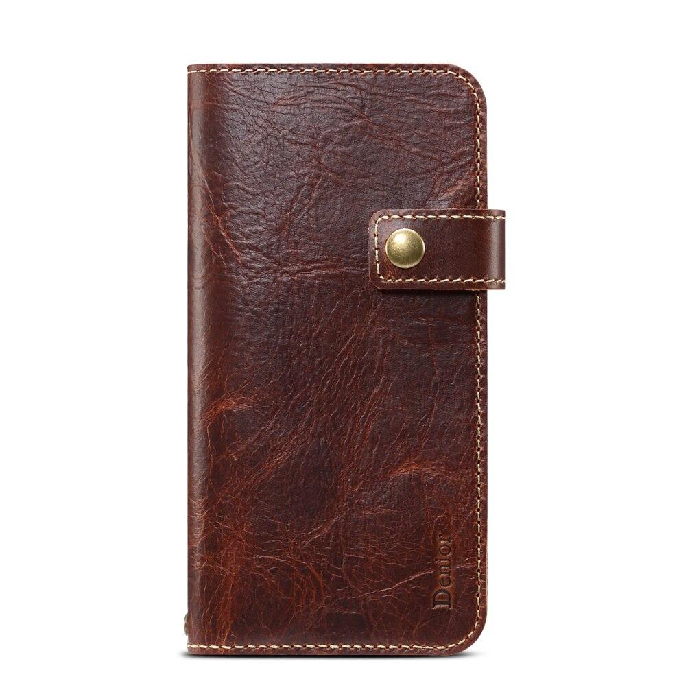 Premium Leather Magnet Button Flip Strap Case for iPhone 11/11 Pro/11 Pro Max 50