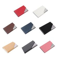 Business-Card-Case Metal Can-Hold-20 Professional Portable