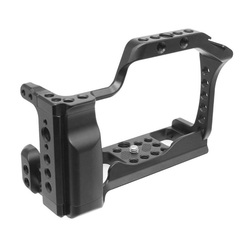 CNC Aluminum Camera Cage for Canon EOS M50 / M5 DLSR Case Cold shoe Mount Expansion Cover Quick-Rease Plate Support Photography