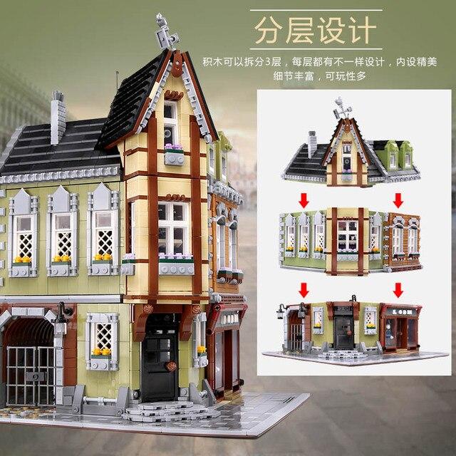 15001 15002 15003 15004 15005 15006 15007 15008 15009 15010 15011 15015 15012 0922 15039 House Model Building Block Bricks Toys 5