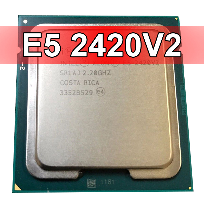 Intel XEON E5 – 2420 V2 Six-core Processor 2.2 GHz 7.2 GT/s 15 MB LGA 1356 CPU OEM