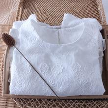 cotton 3D shirt white