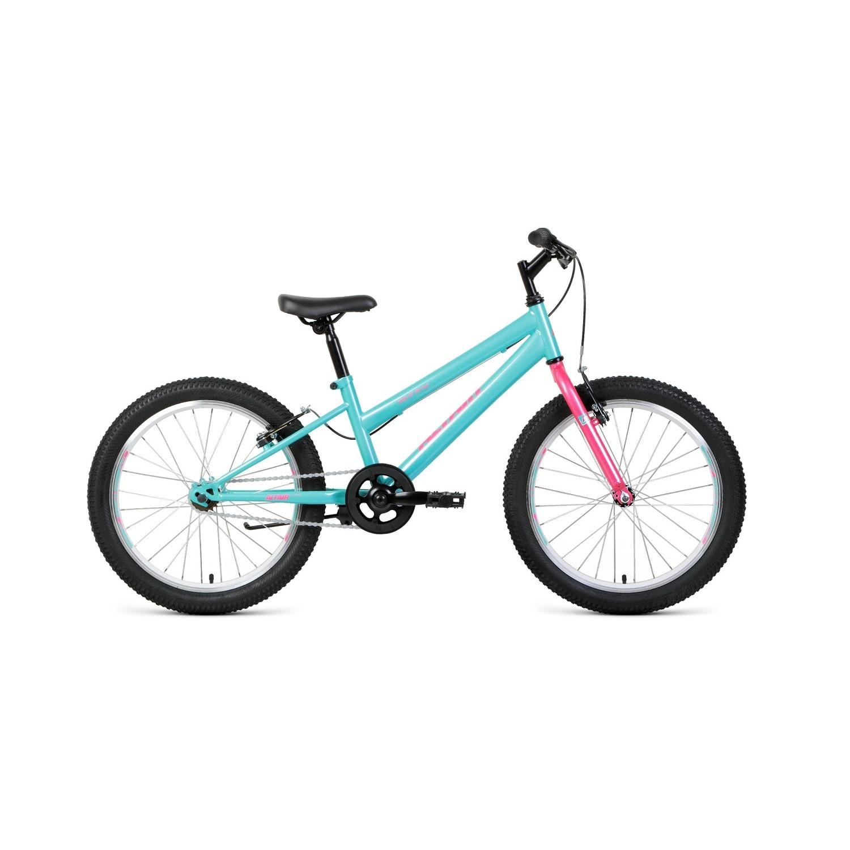 Подростковый велосипед ALTAIR MTB HT 1.0 low 20.0 (2020) , цвет мятный