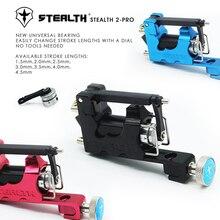 Stealth Gen2 Pro Rotary Tattoo Machine Set with Universal Bearing