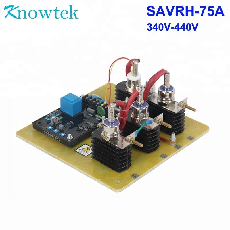 Universal AVR 75A 190V-264V SAVRL-75A Automatic voltage regulator for generator