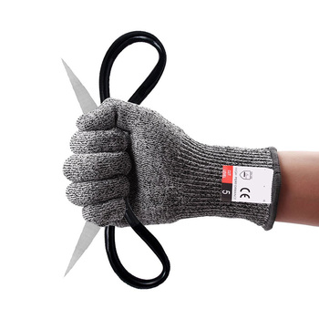 Outdoor Hunting Cut-proof Full Finger Gloves Food Grade 5 Breathable Anti-cutting Manual Cookware Butcher Protection Hand 4