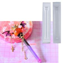 Magic Wand Silicone Resin Mold Magic Stick Witch Wand Epoxy Resin Casting Mold Keychain Pendant Jewelry Making Tools