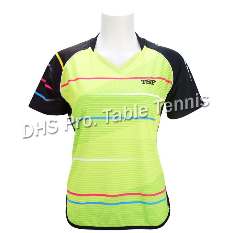 T-Shirt Tsp Table-Tennis Korea-National-Team Jersey Sports Women 83113 Short-Sleeve General title=